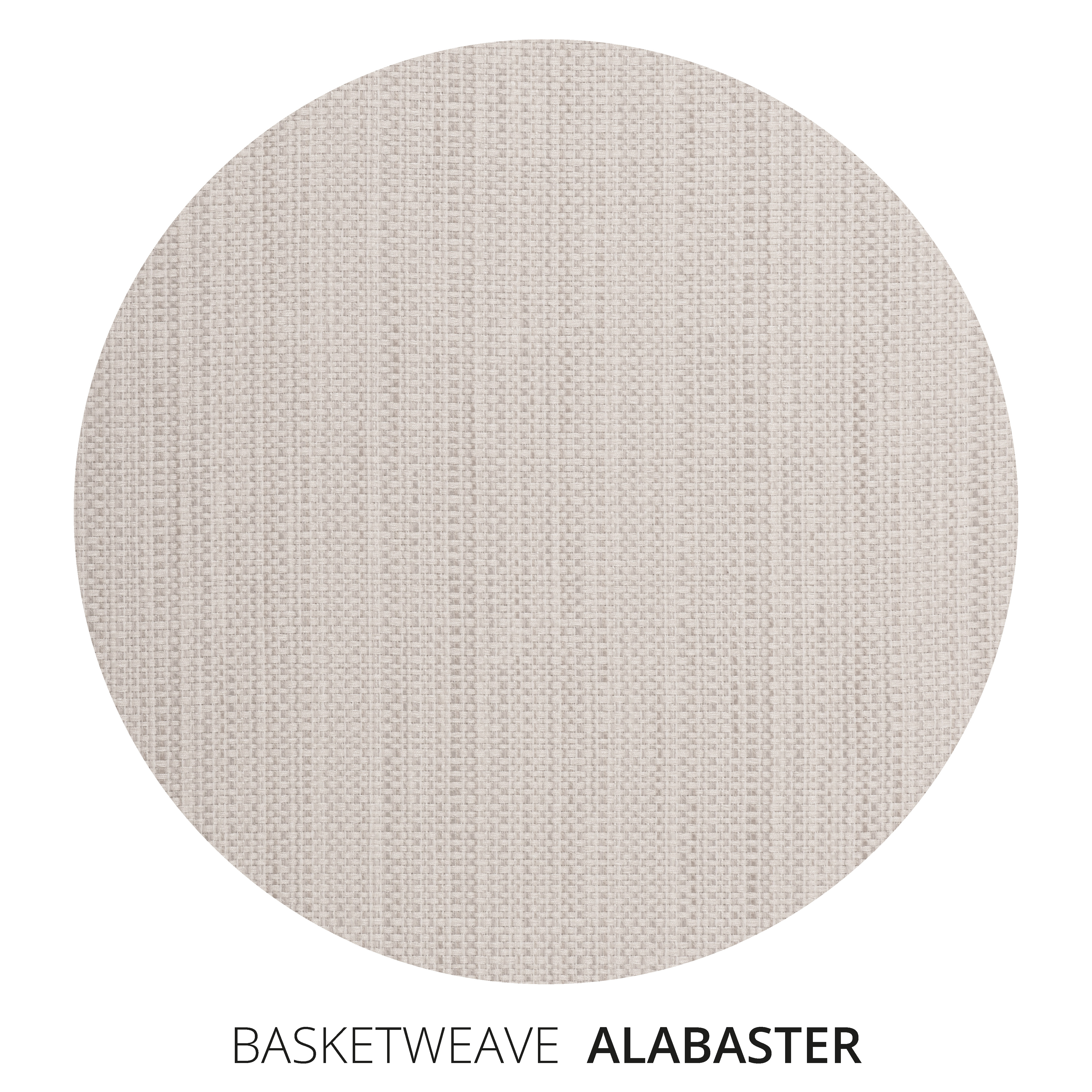 Alabaster Basketweave Swatch