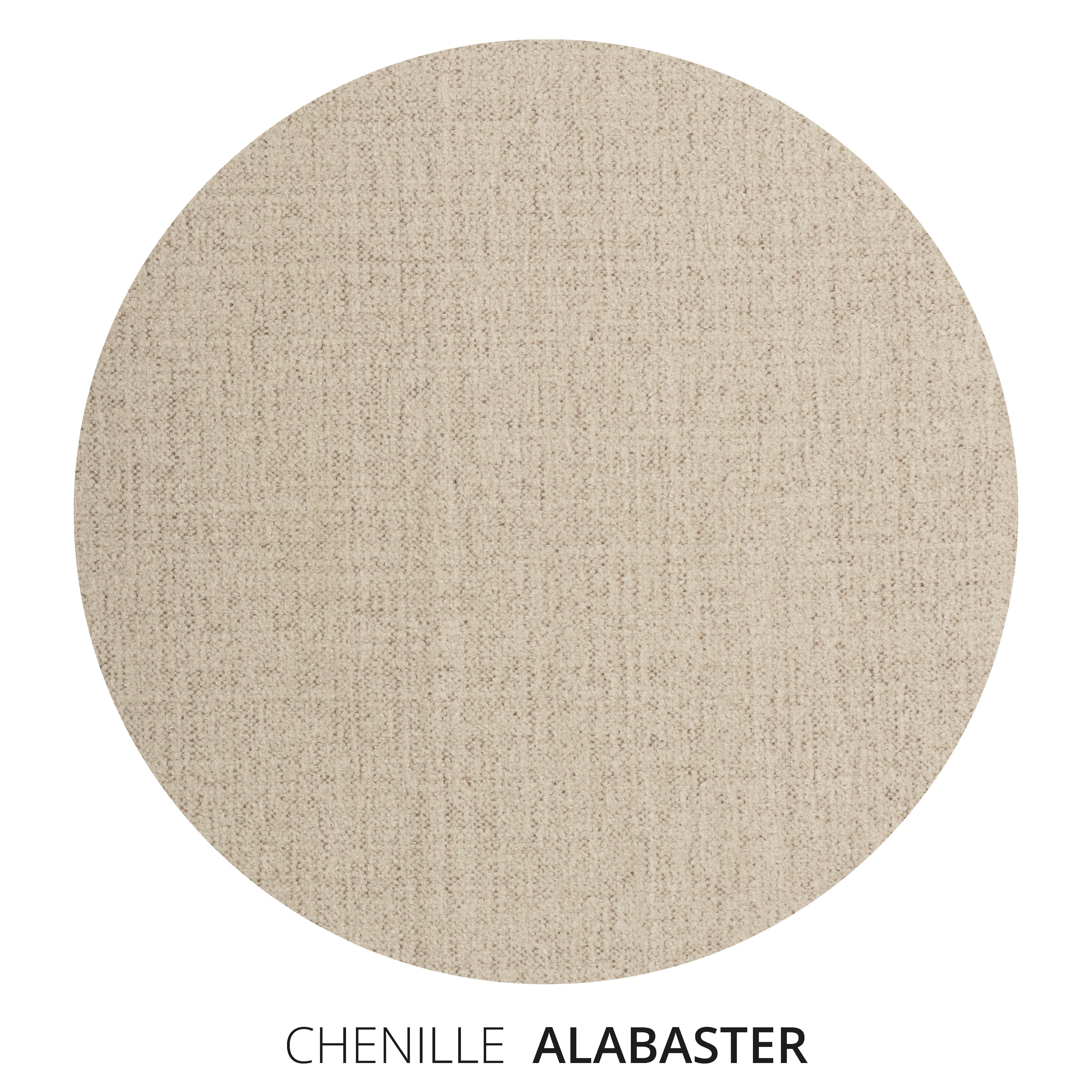 Alabaster Chenille Swatch