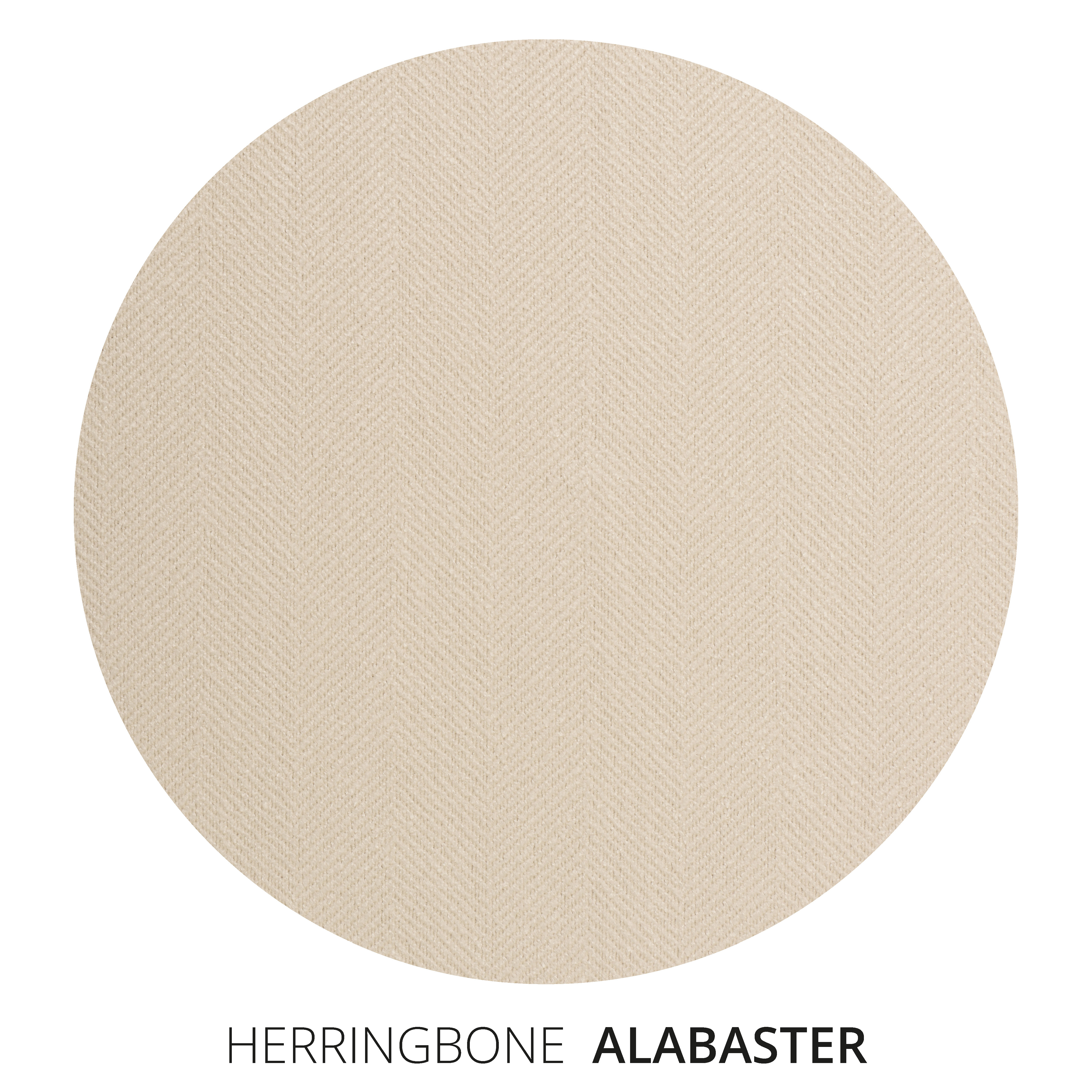 Alabaster Herringbone Swatch