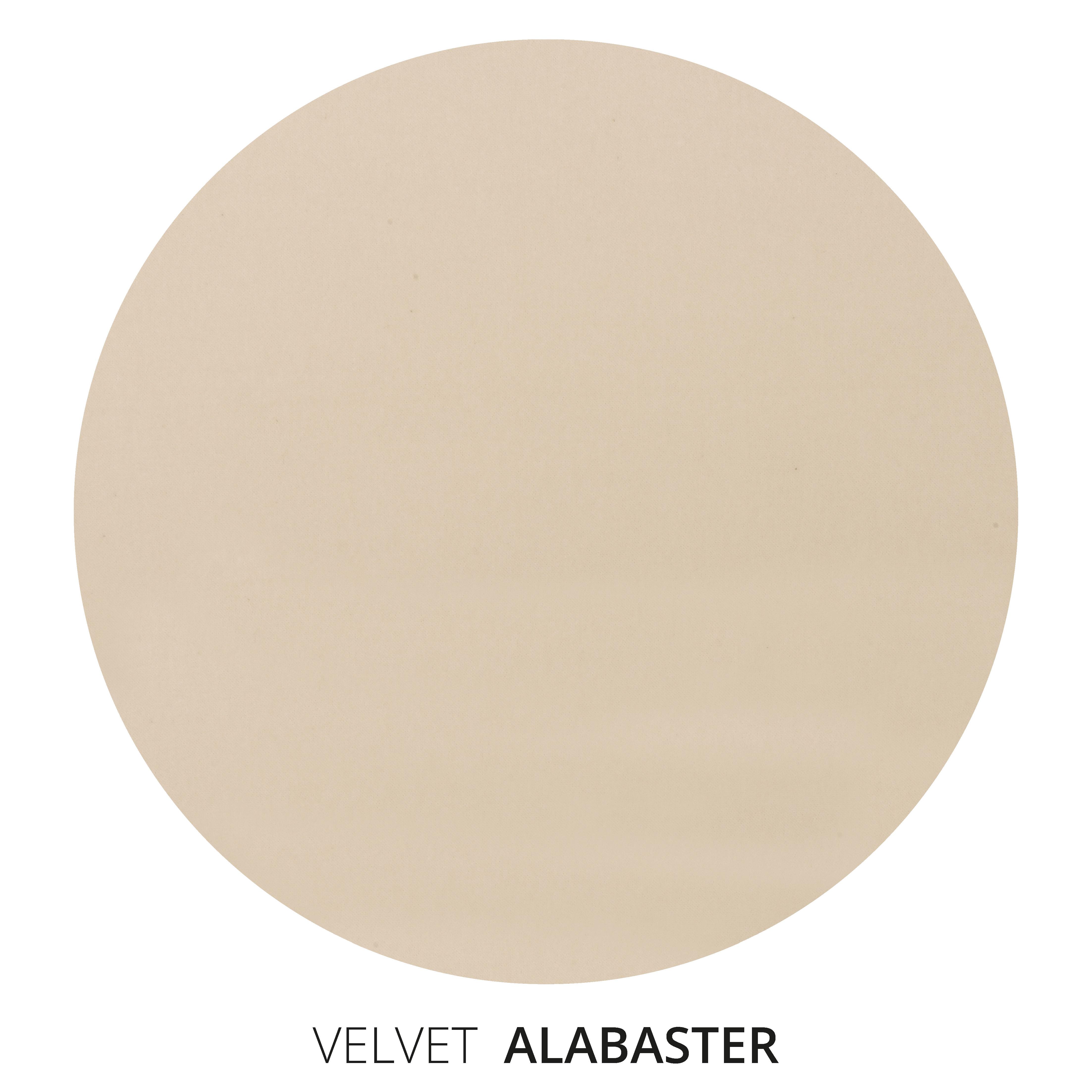 Alabaster Velvet Swatch