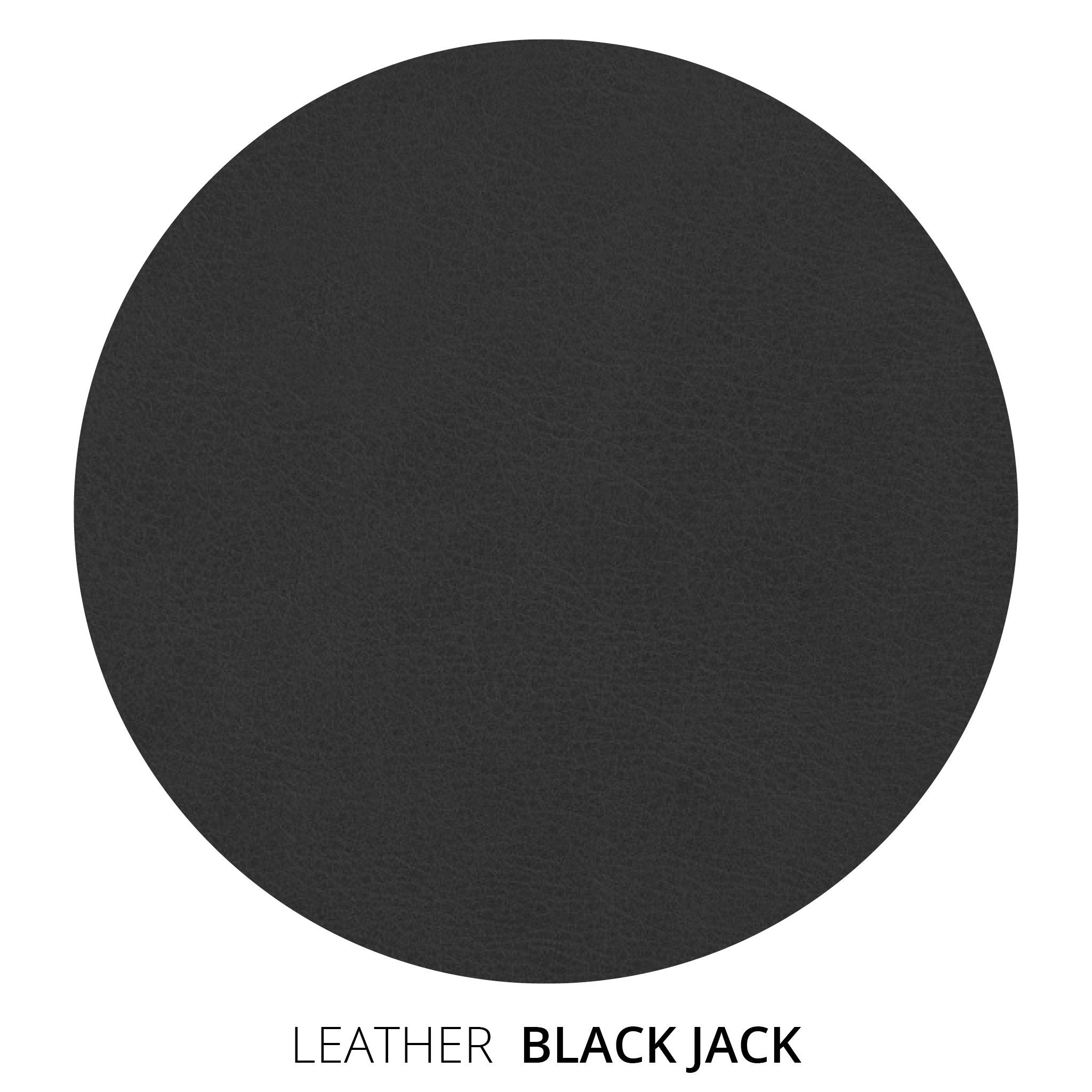 Black Jack Leather Swatch