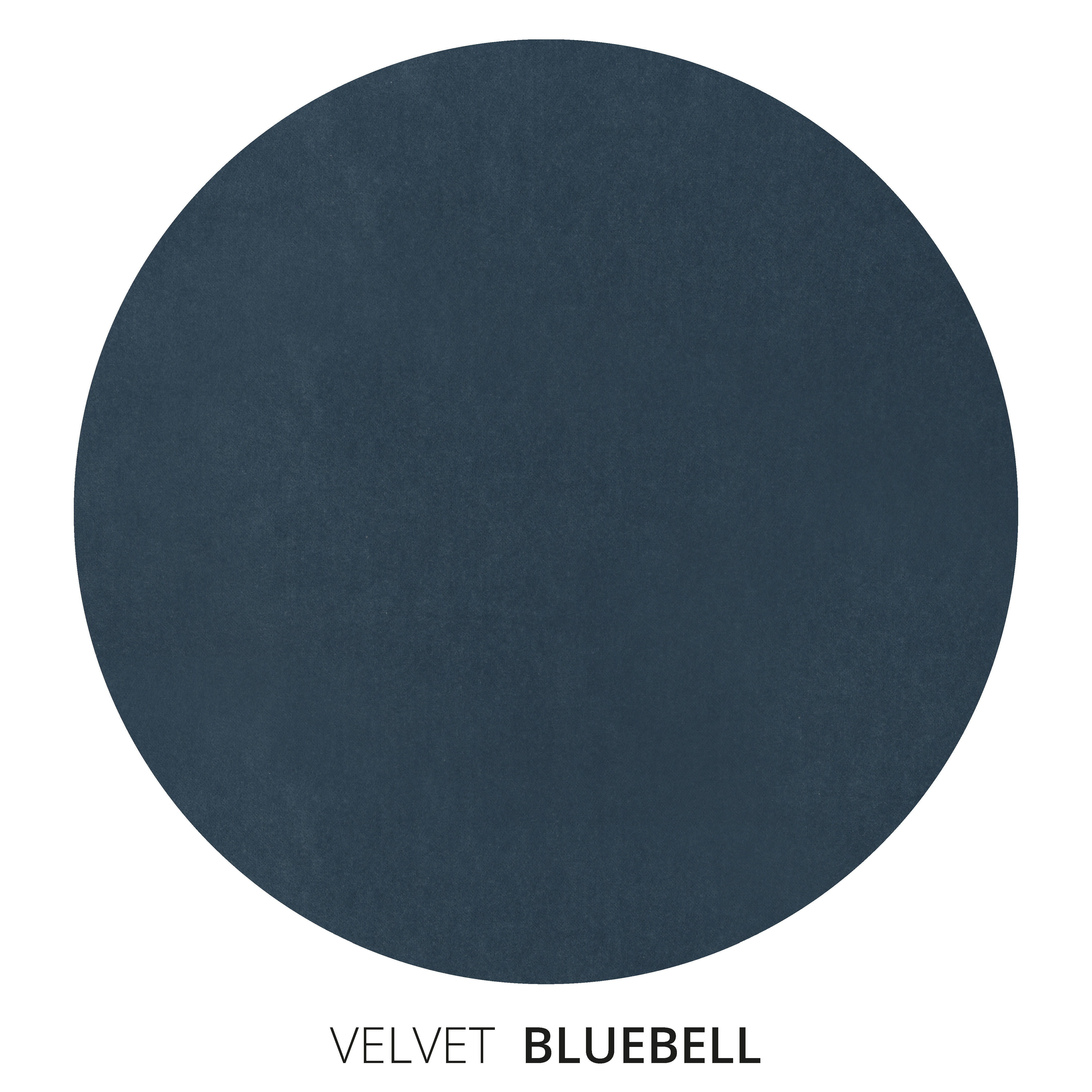 Bluebell Velvet Swatch