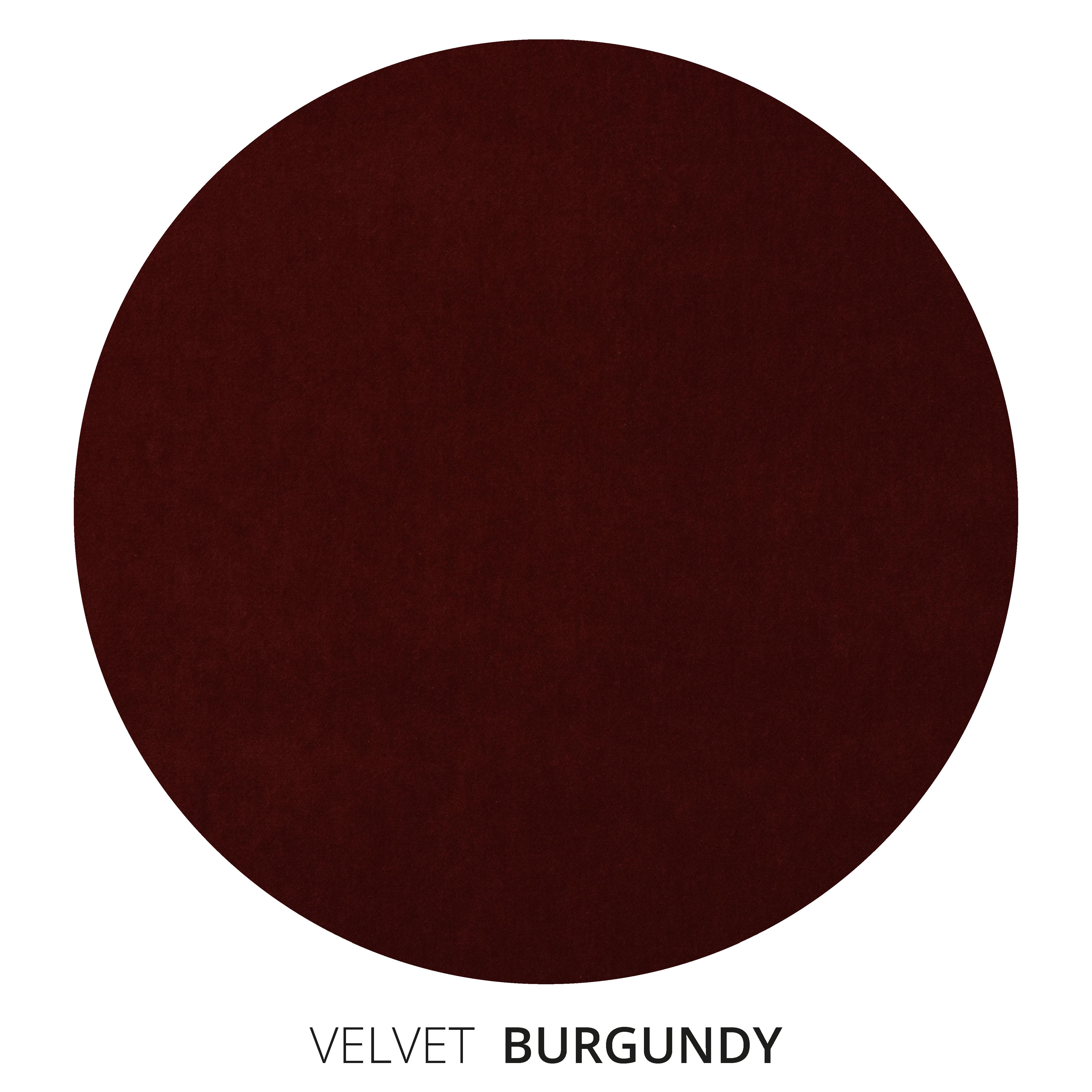 Burgundy Velvet Swatch