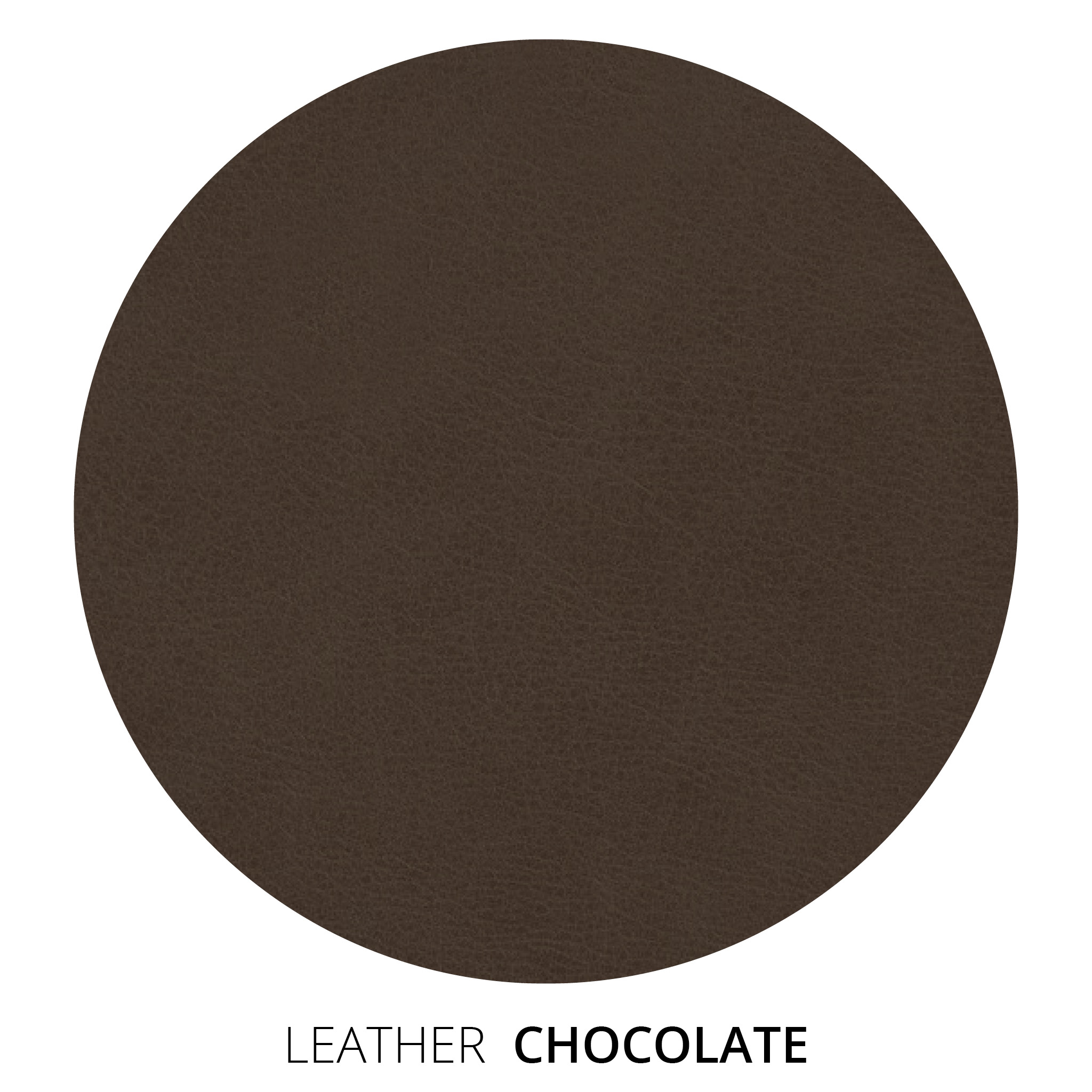 Chocolate Leather Swatch