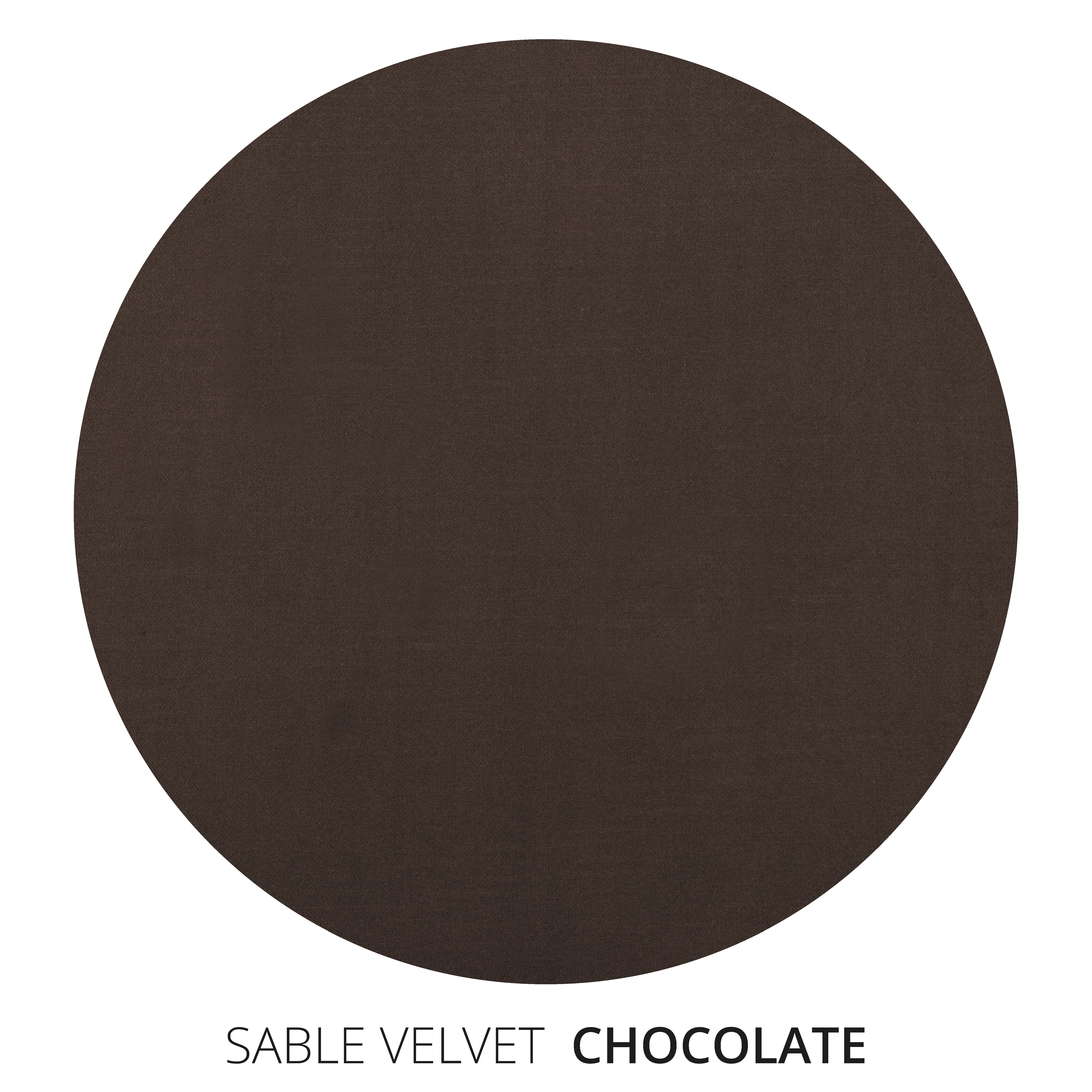 Chocolate Sable Velvet Swatch