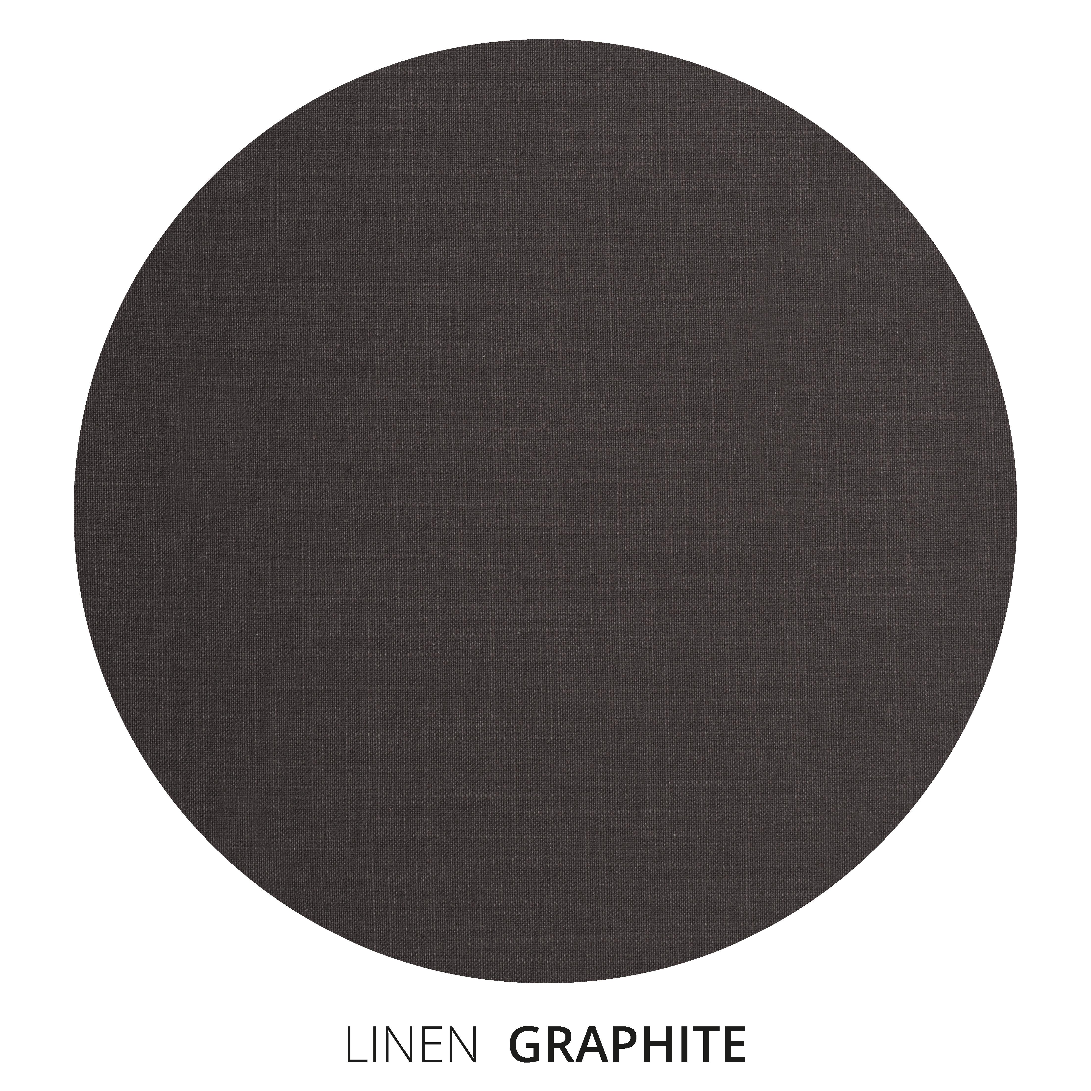 Graphite Linen Swatch