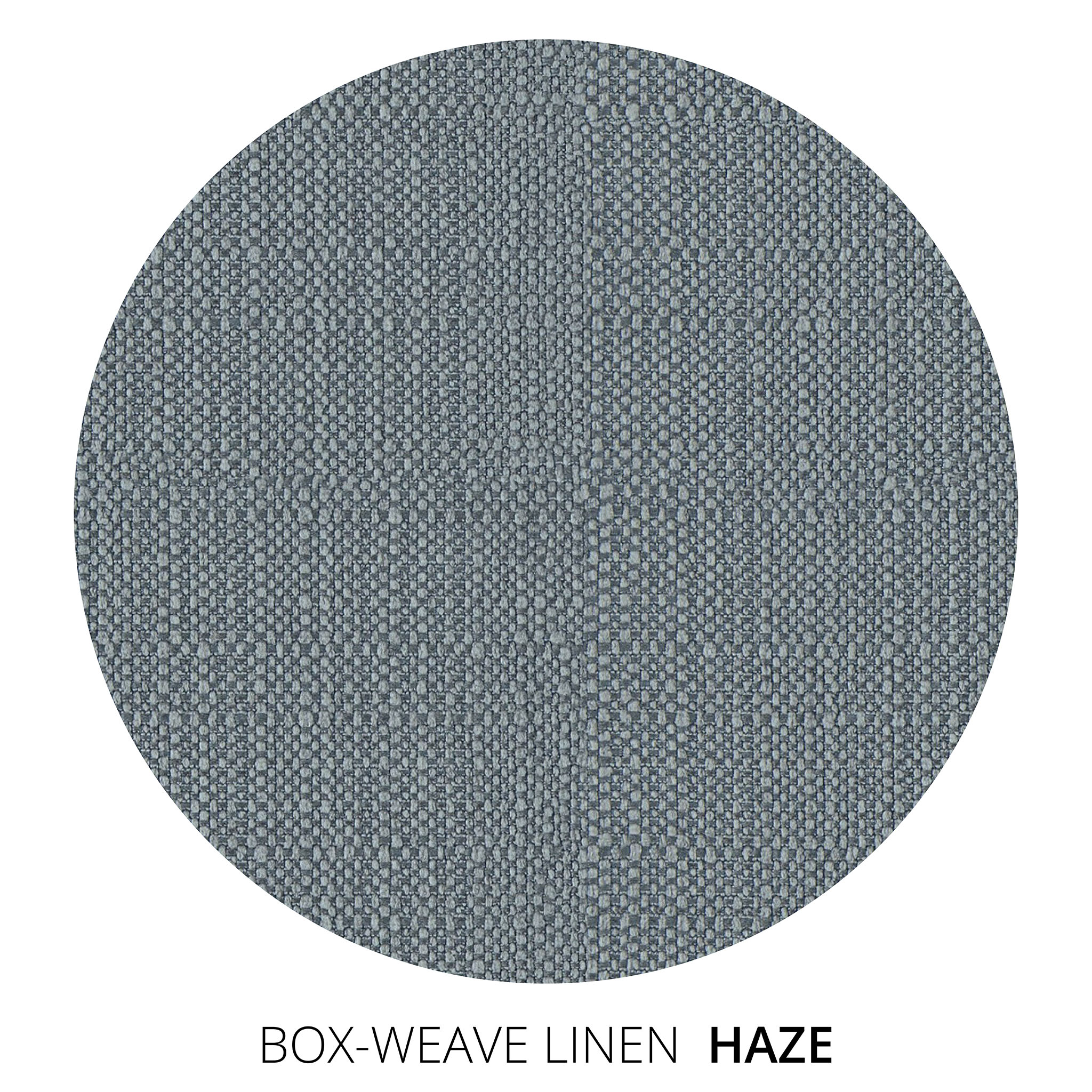 Haze Box Weave Linen Swatch