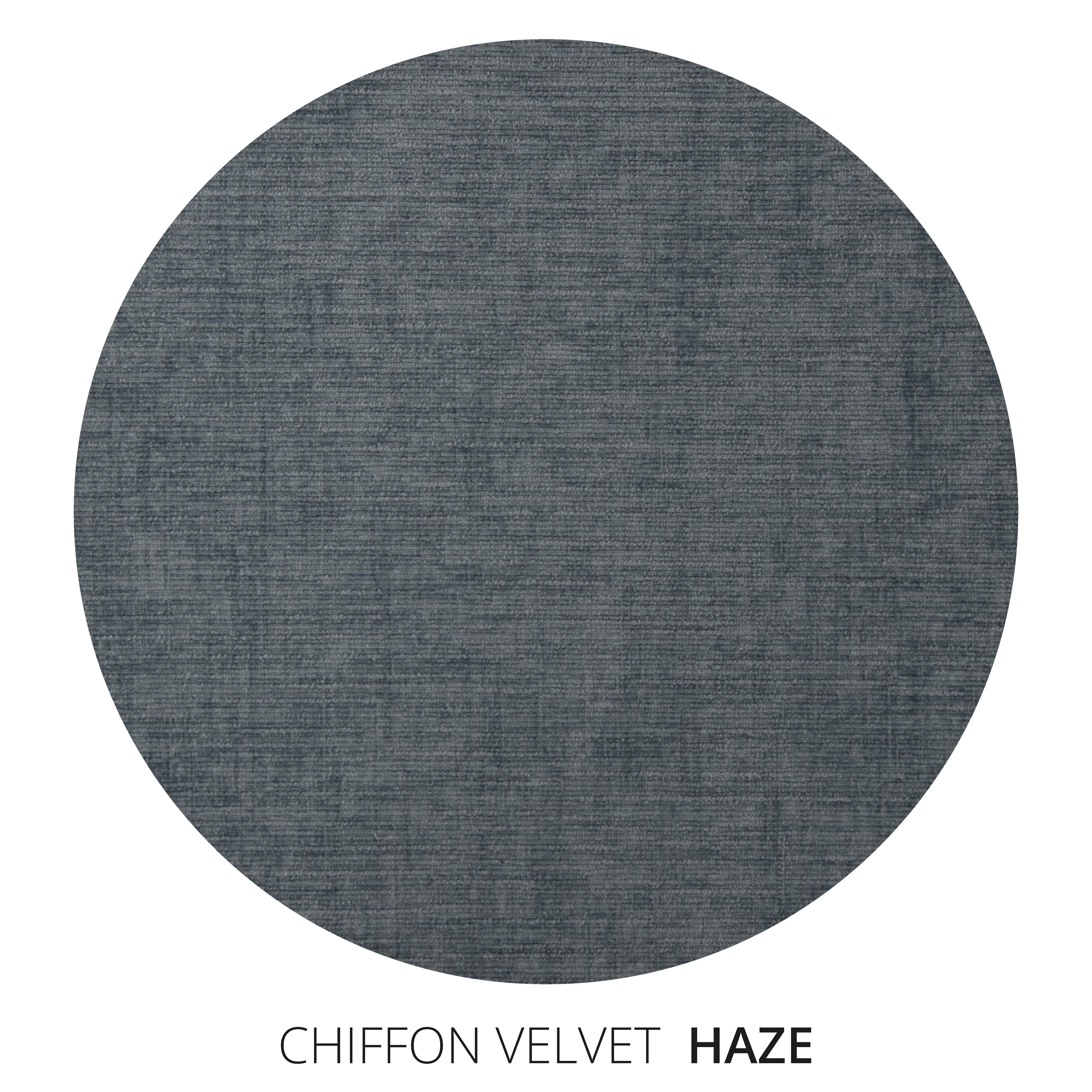 Haze Chiffon Velvet Swatch