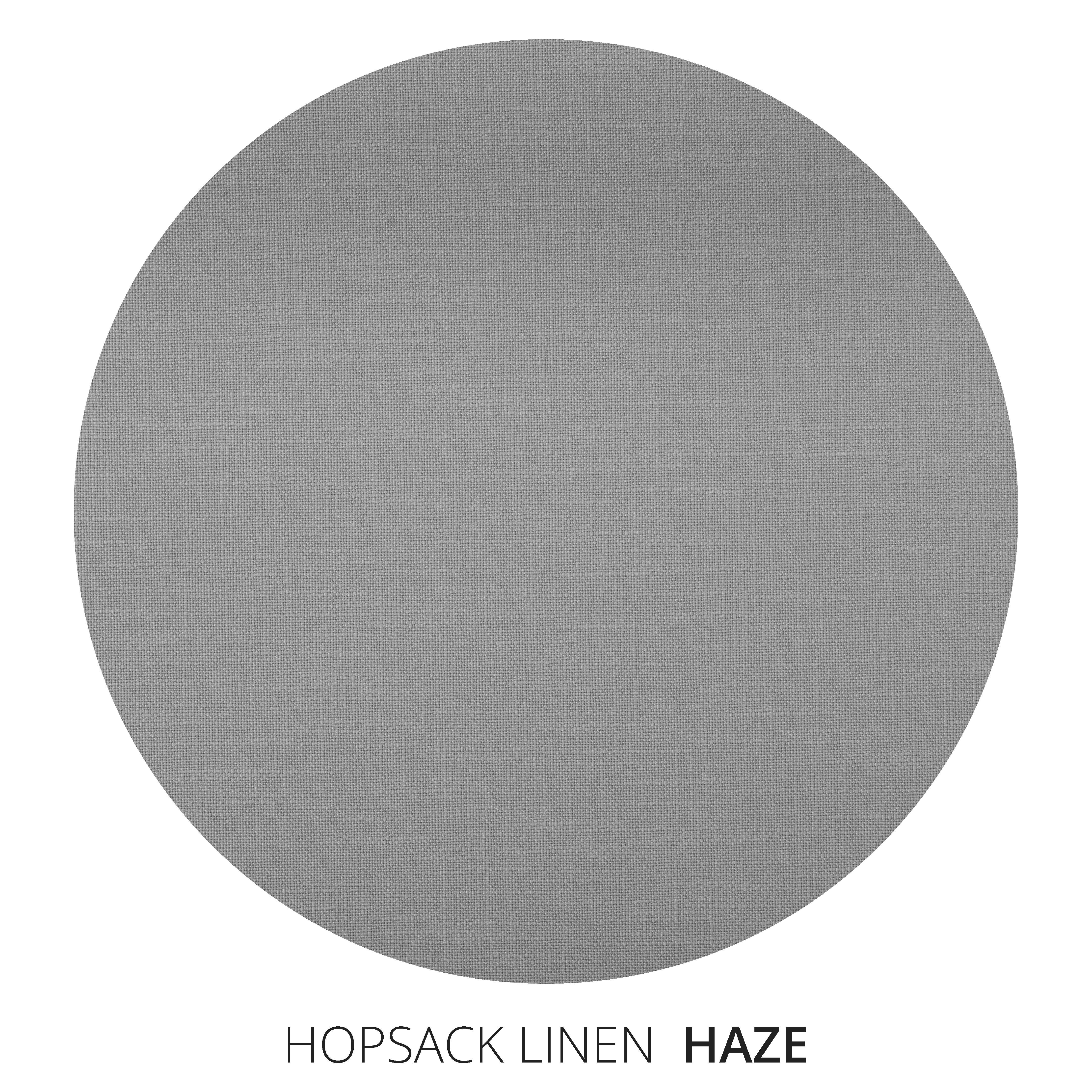 Haze Hopsack Linen Swatch