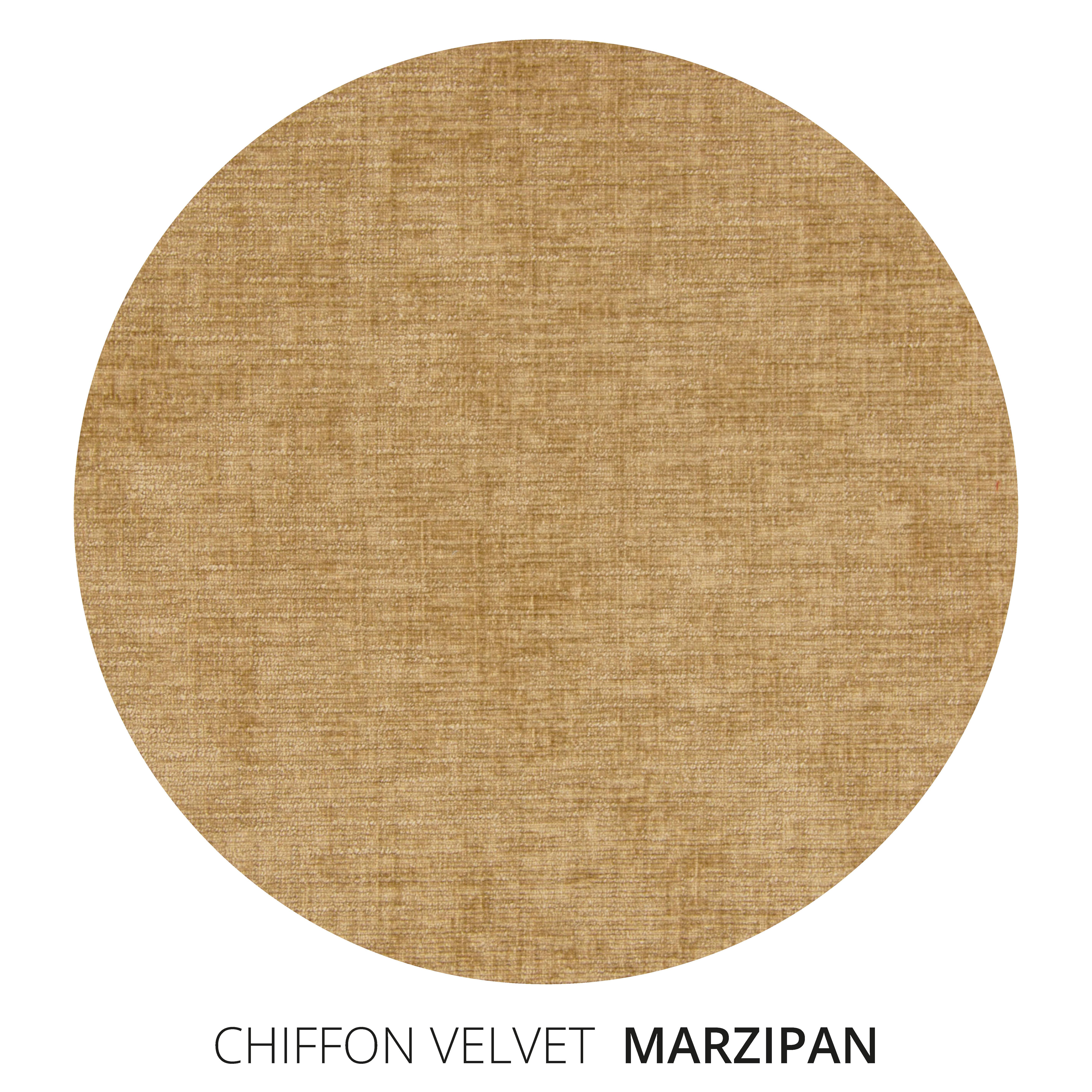 Marzipan Chiffon Velvet Swatch
