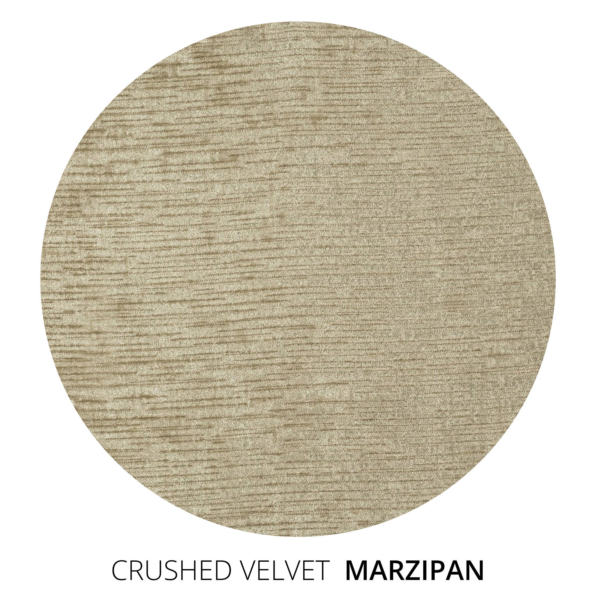 Marzipan Crushed Velvet Swatch