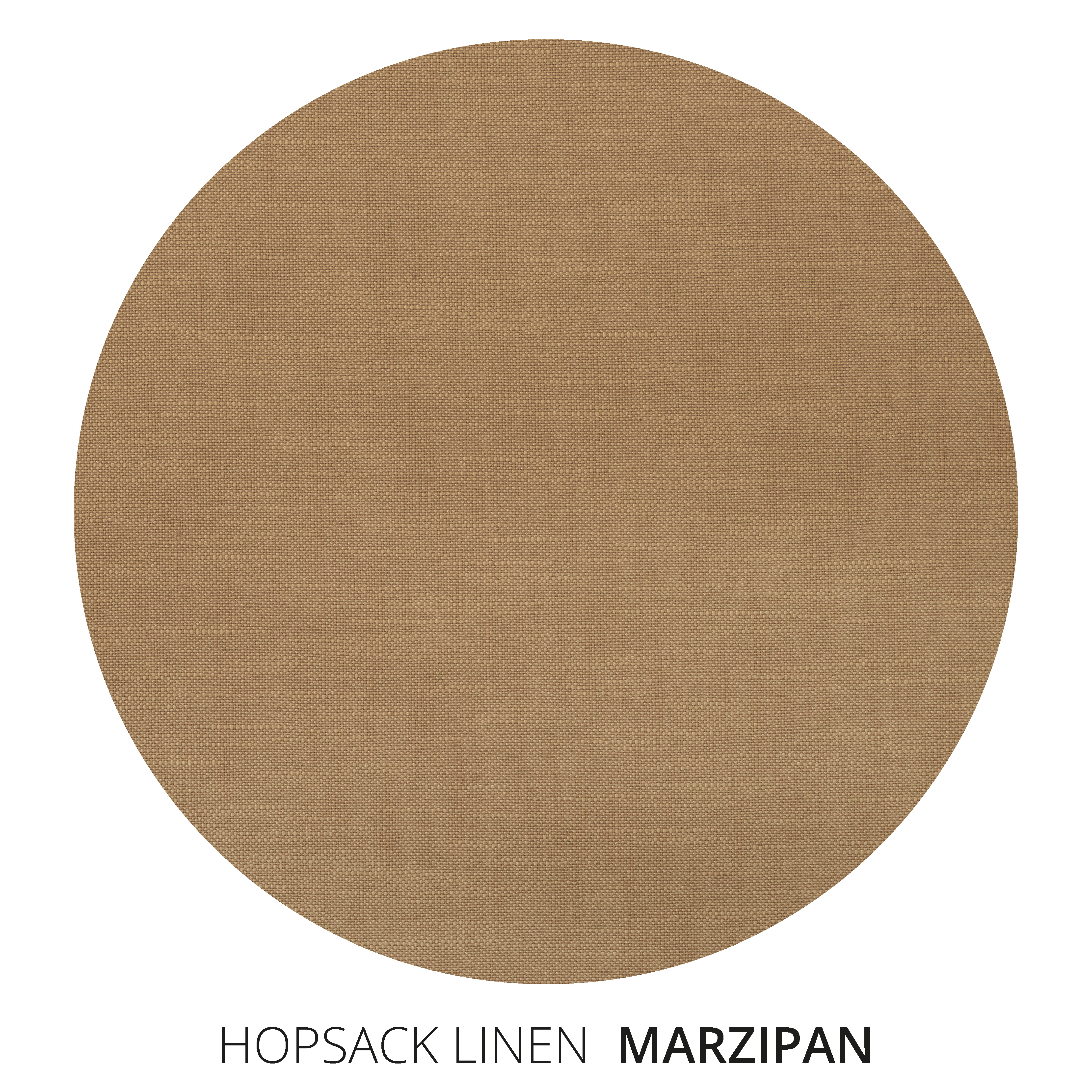 Marzipan Hopsack Linen Swatch