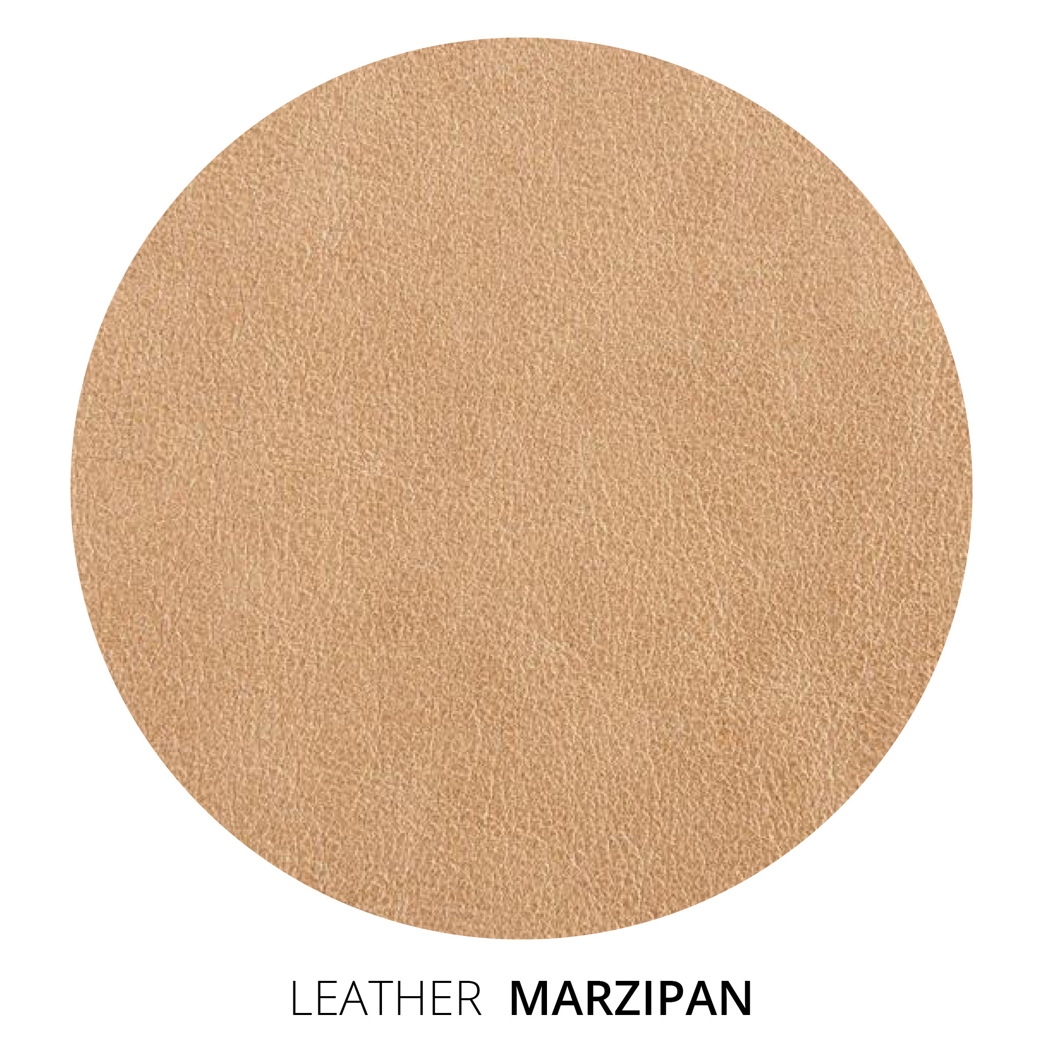 Marzipan Leather Swatch