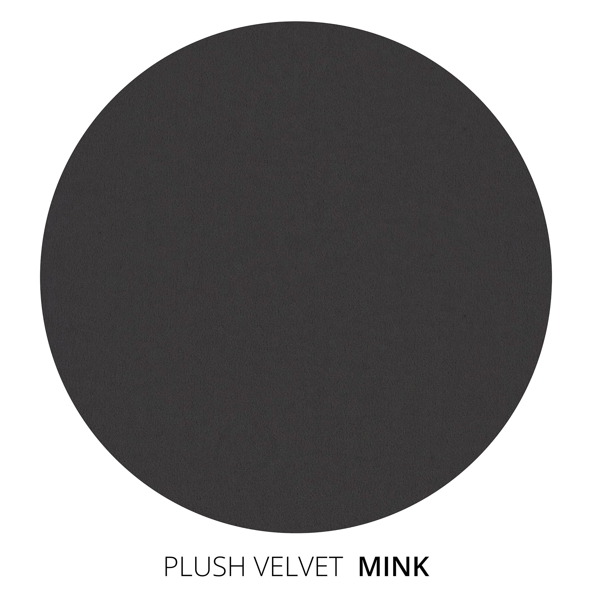 Mink Plush Velvet Swatch