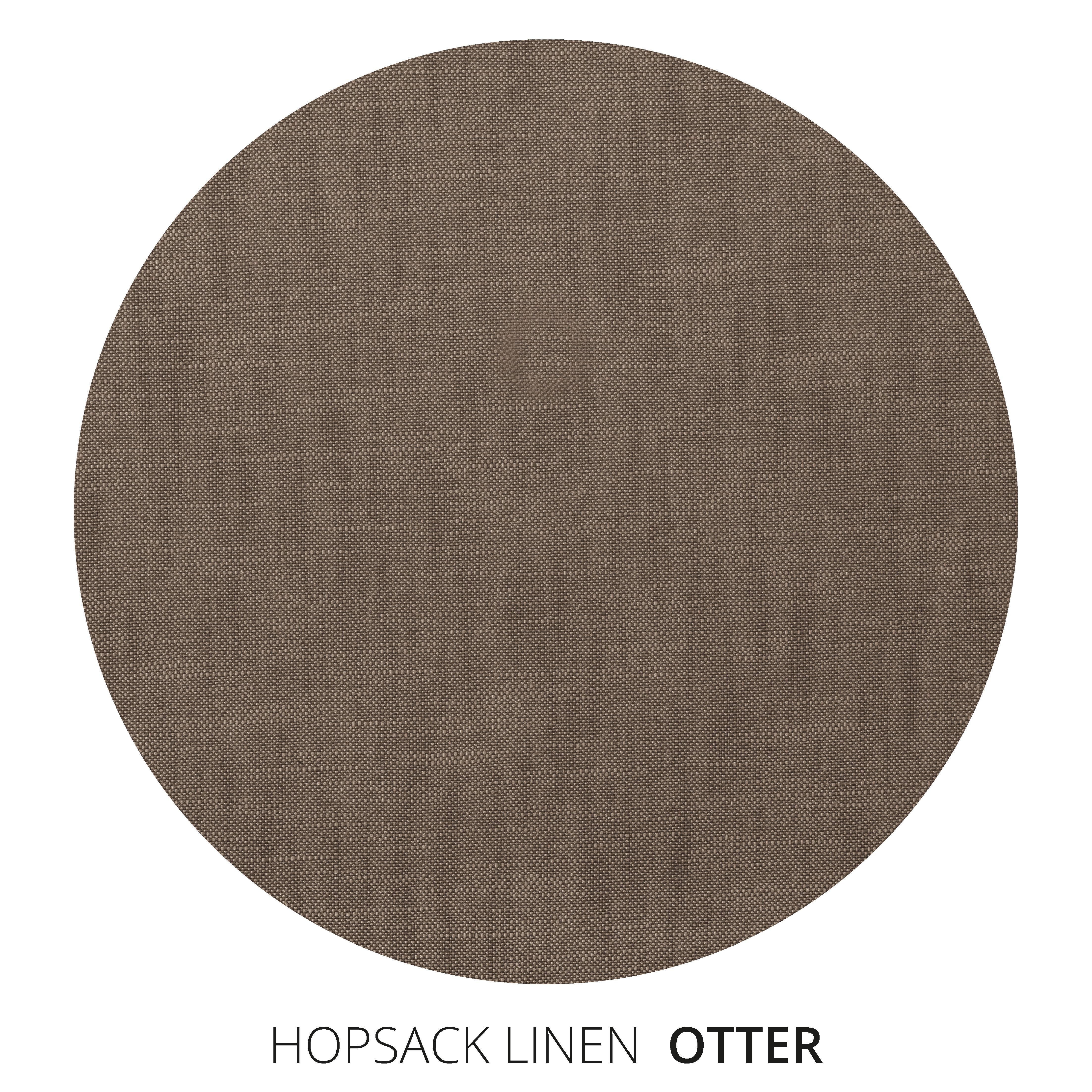 Otter Hopsack Linen Swatch