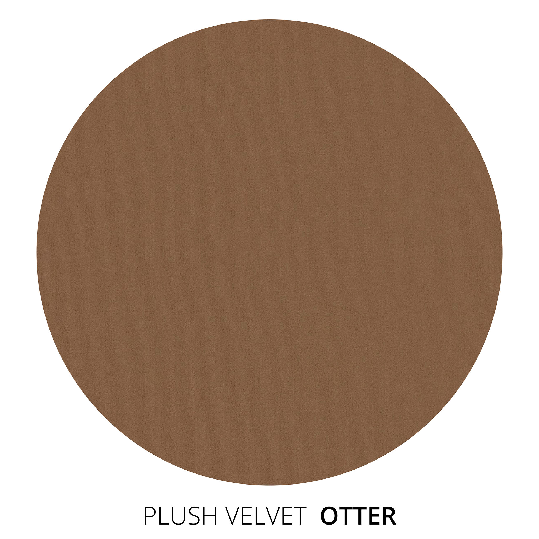Otter Plush Velvet Swatch
