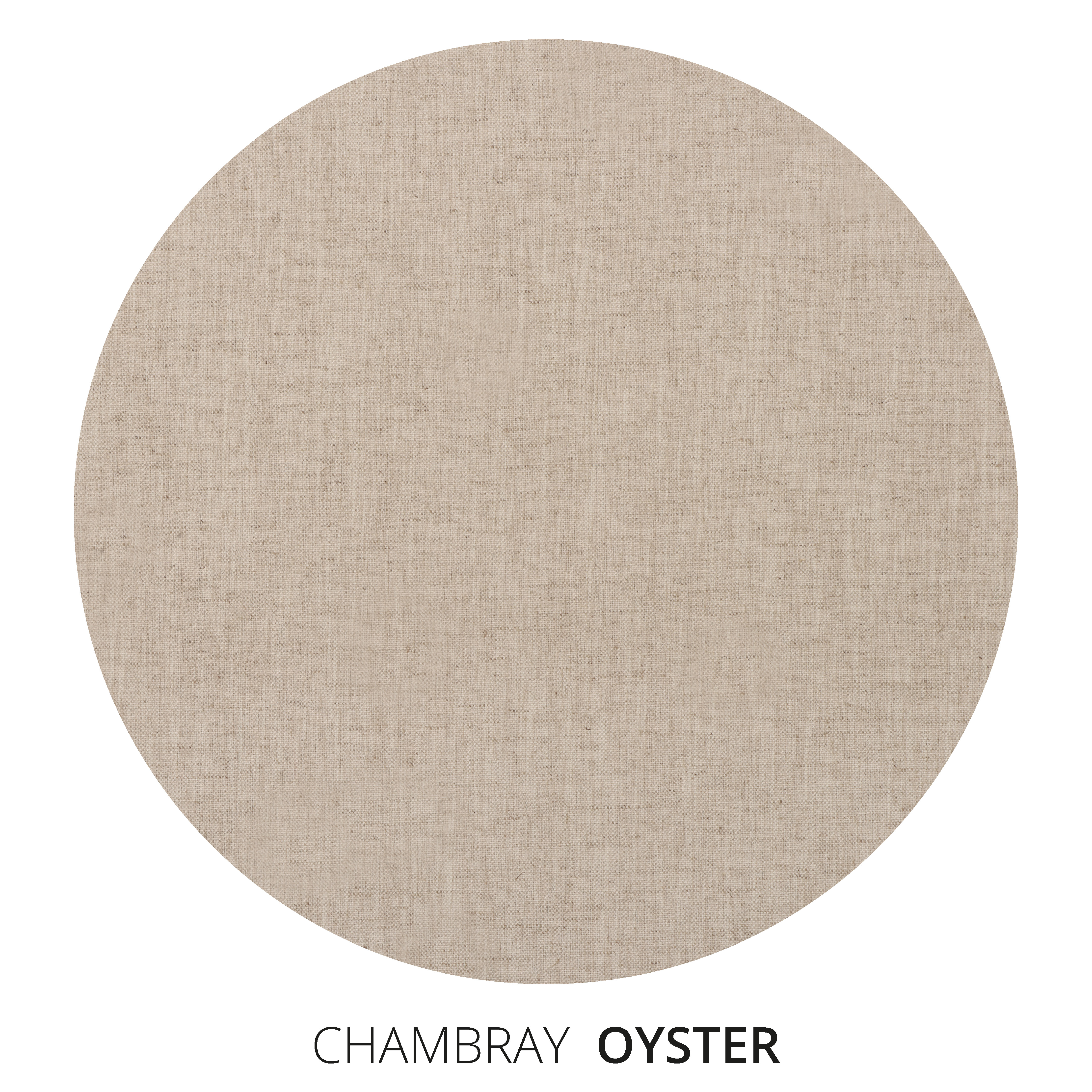 Oyster Chambray Swatch
