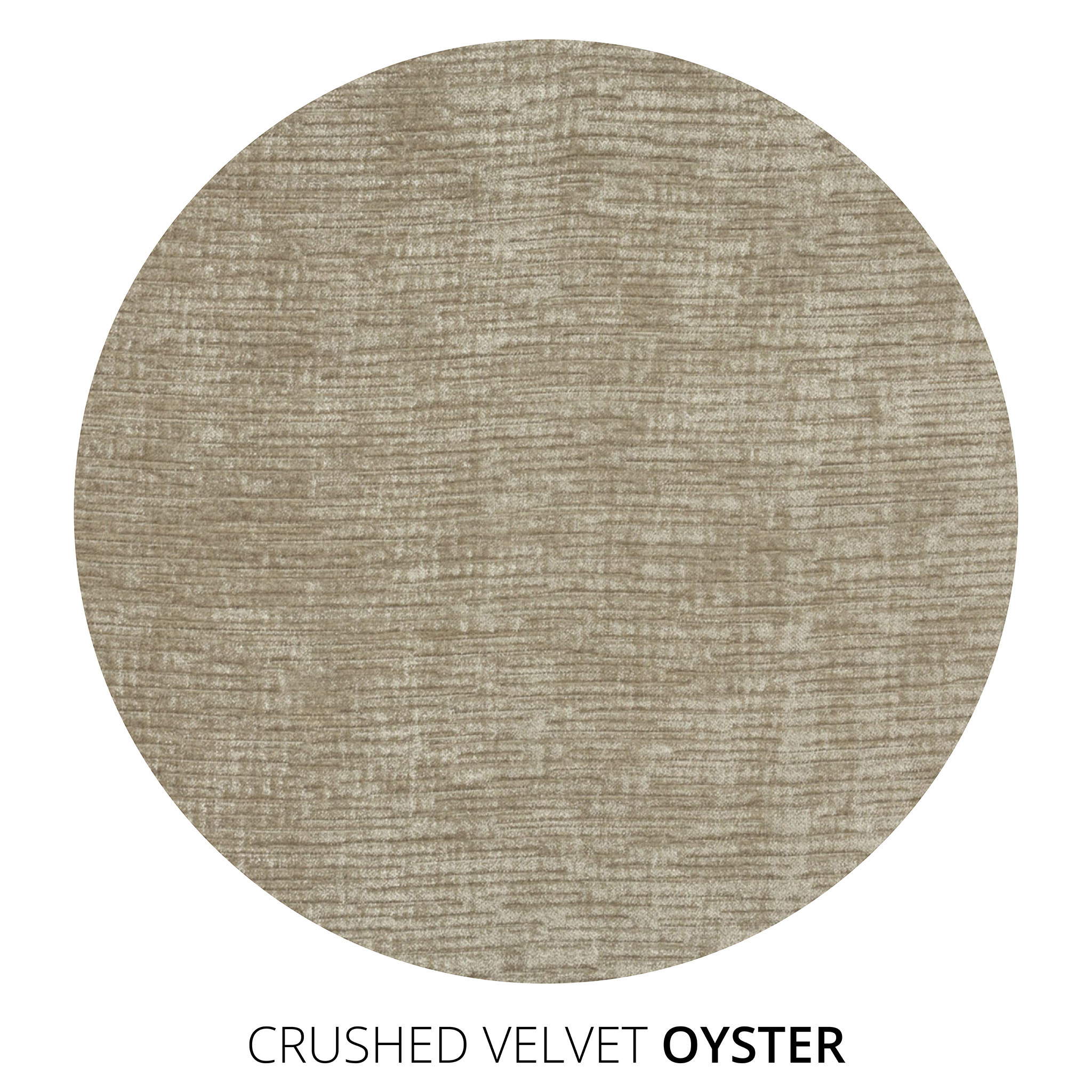 Oyster Crushed Velvet Swatch