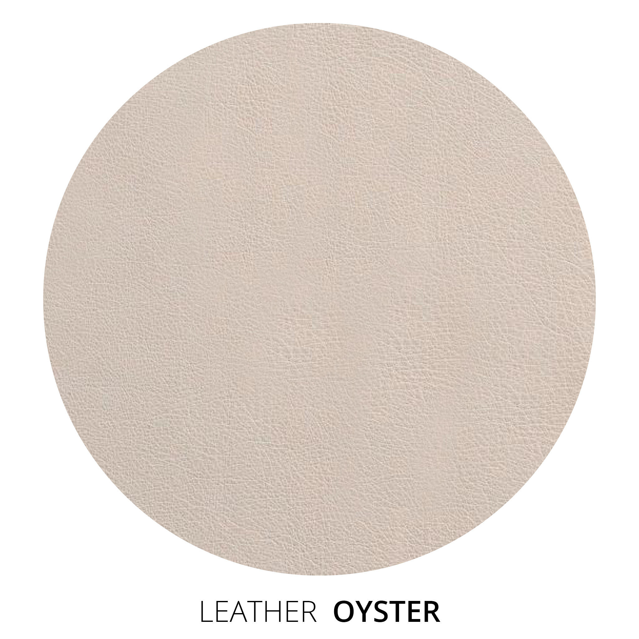 Oyster Leather Swatch