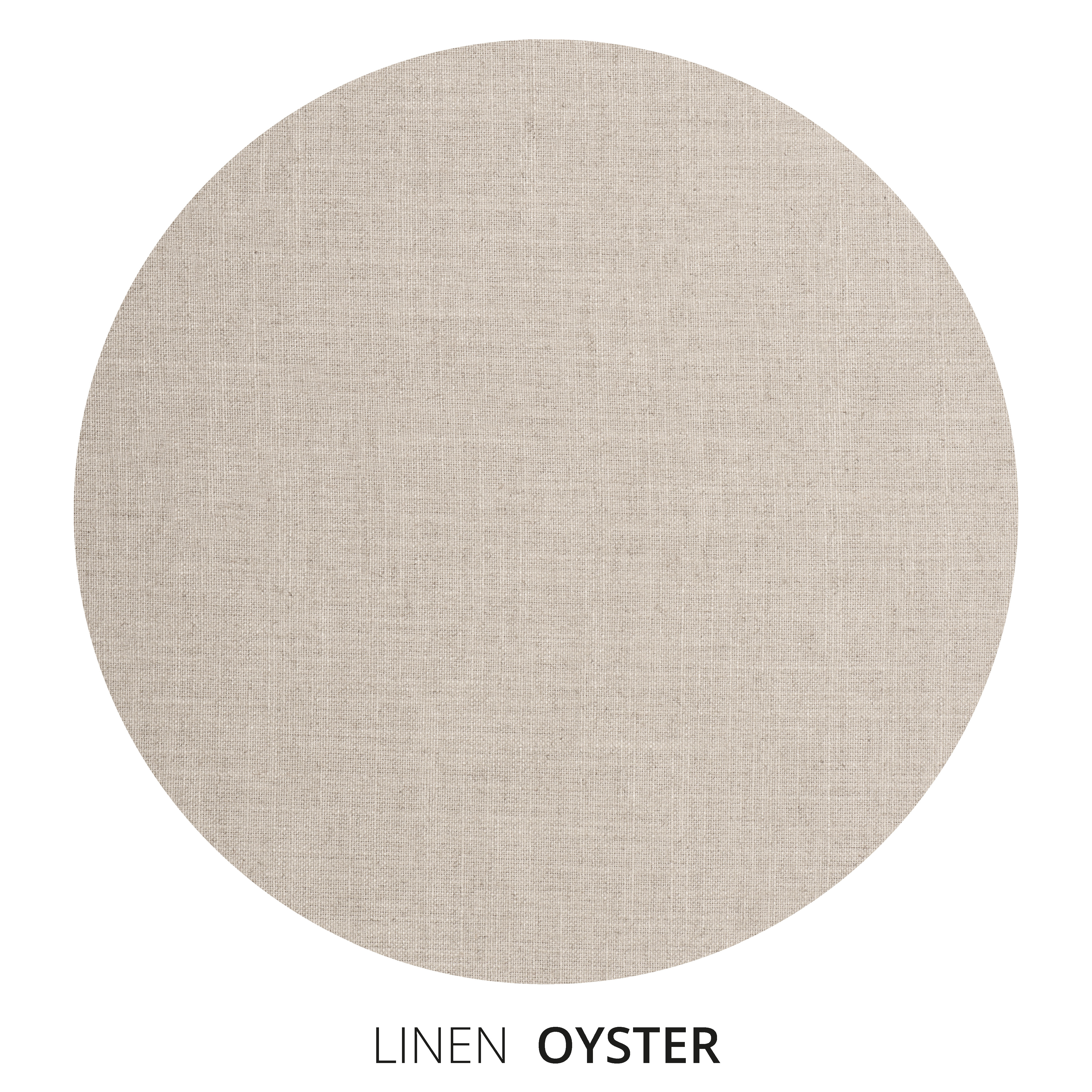 Oyster Linen Swatch