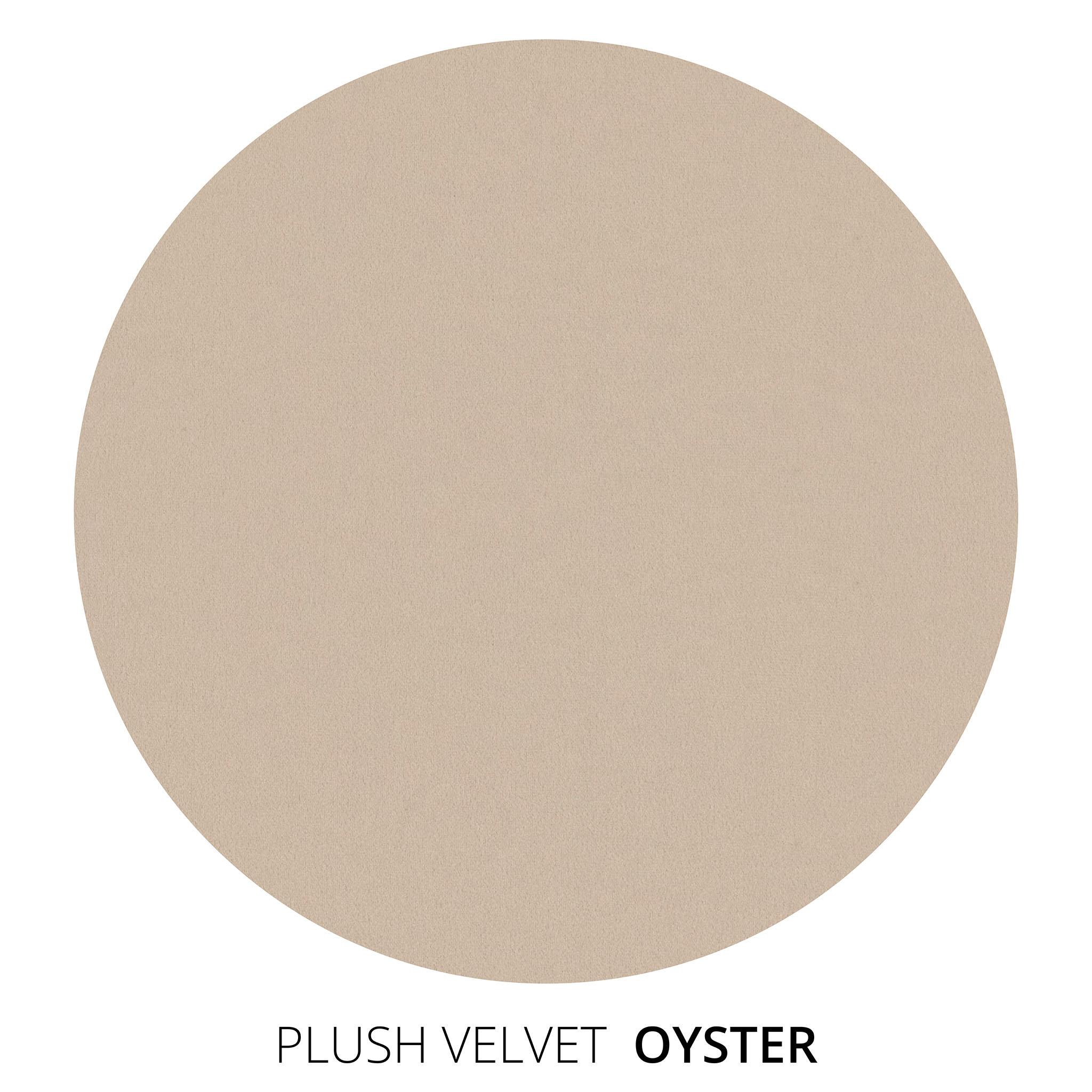 Oyster Plush Velvet Swatch