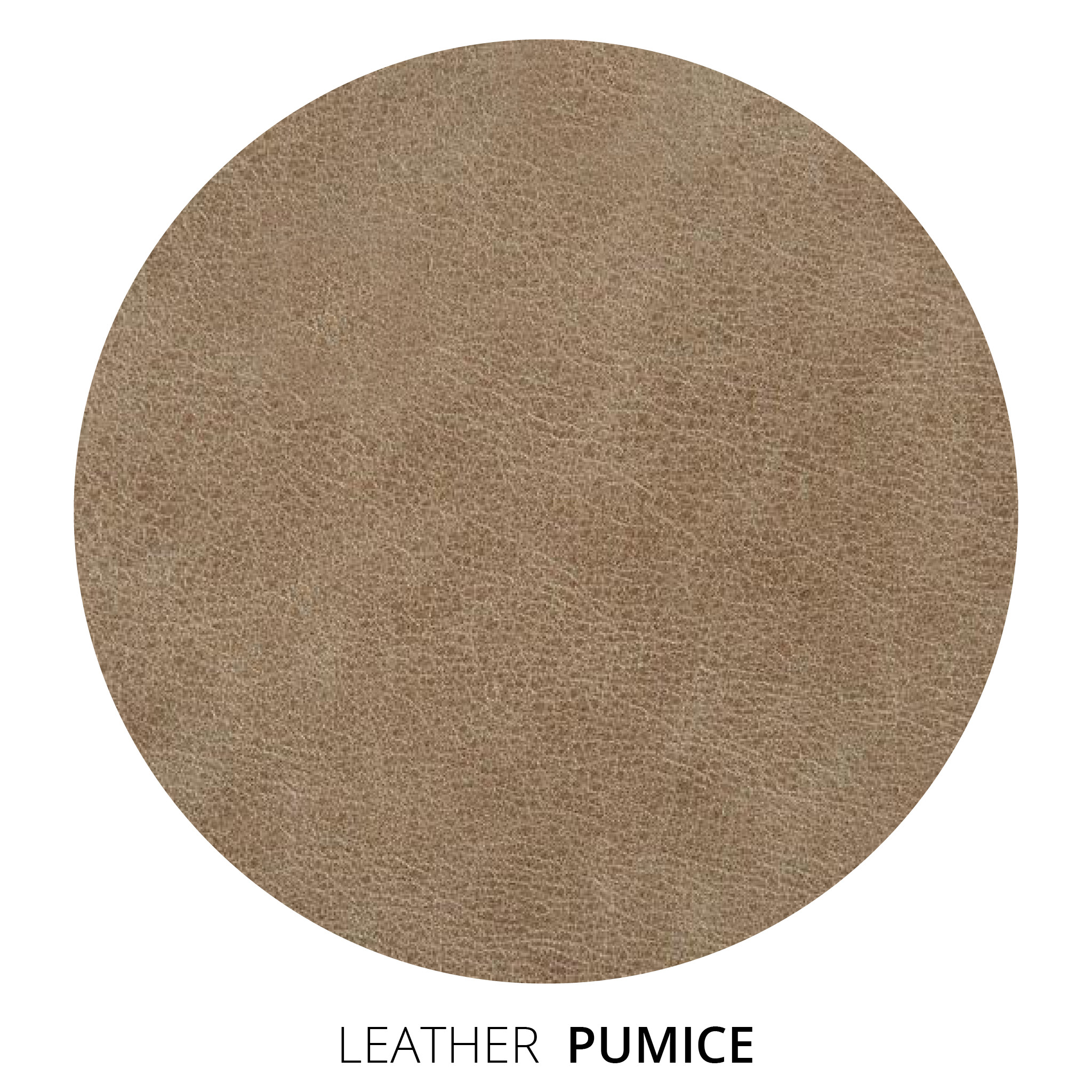 Pumice Leather Swatch