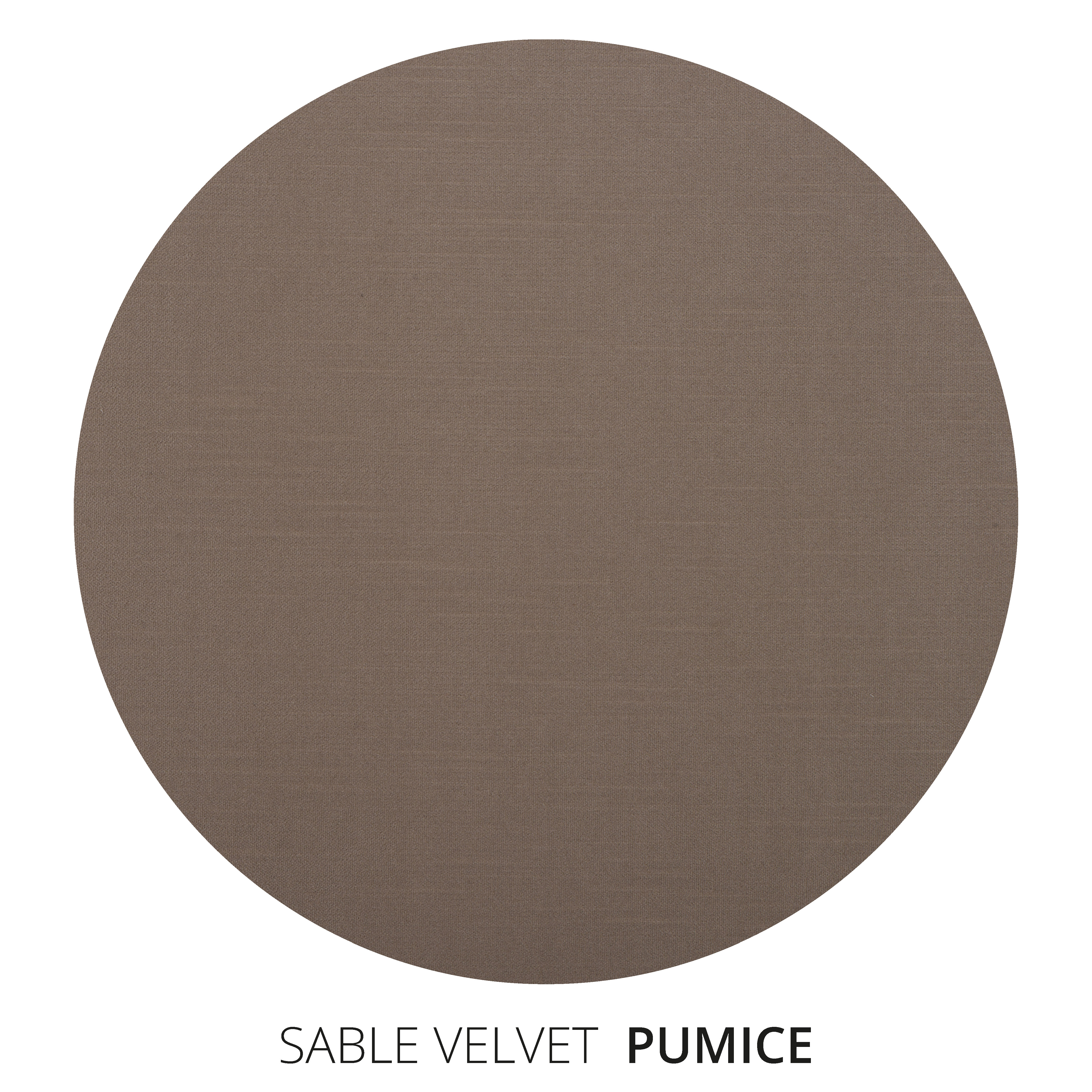 Pumice Sable Velvet Swatch
