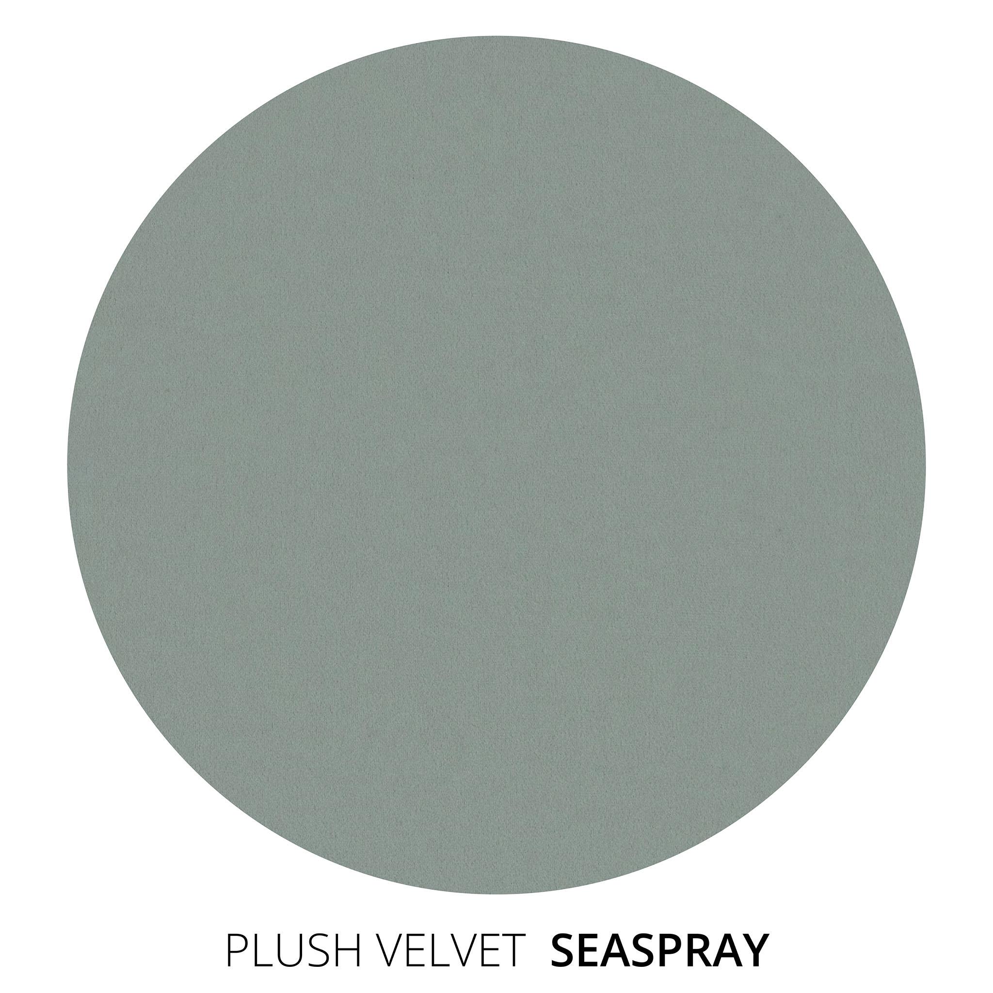 Sea Spray Plush Velvet Swatch