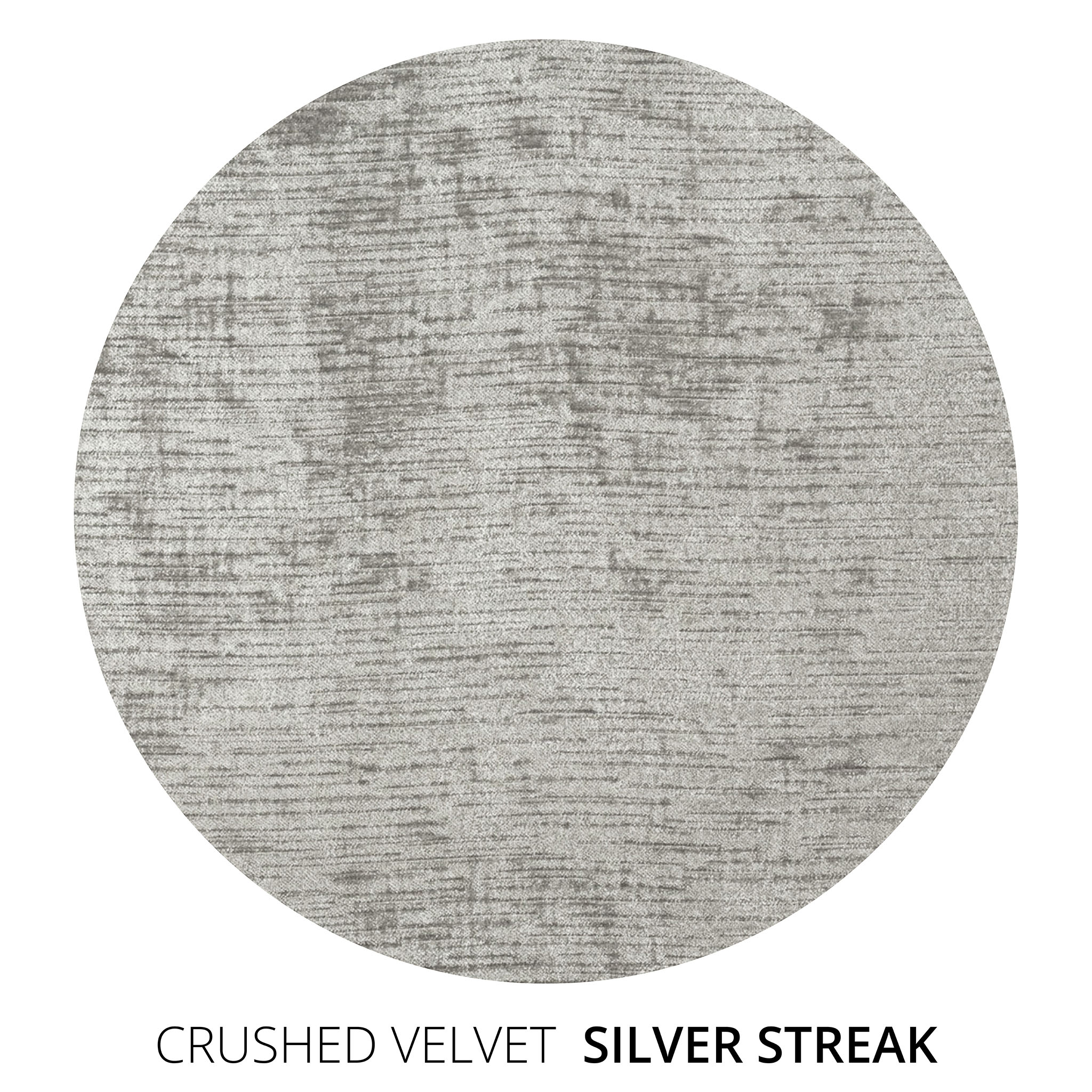 Silver Streak Crushed Velvet Swatch
