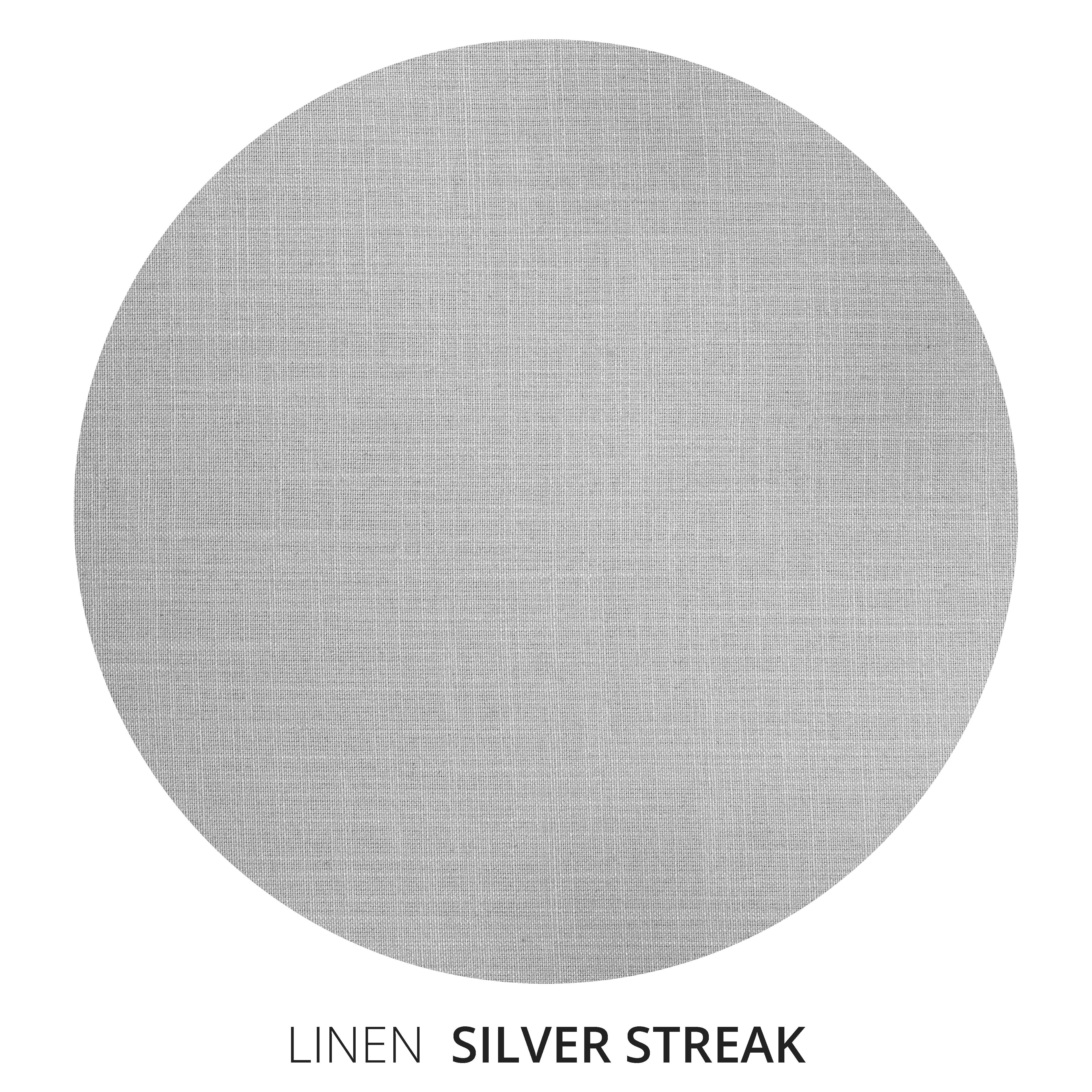 Silver Streak Linen Swatch